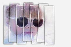 Vertical Panels Portrait Photoshop Action Product Image 3