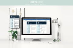 RN Nurse Resume template. Modern Resume format for Nurses Product Image 9