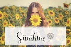 Hello Daisy - Flower Script Font Product Image 6