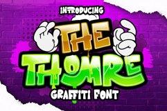 THOMRE GRAFFITI FONT Product Image 1