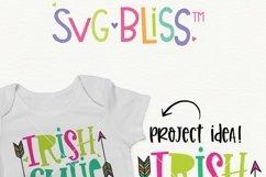 Irish Cutie SVG- St. Patrick's Day Cut File / Sublimation Product Image 2
