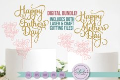 Mother's Day & Father's Day Cake Topper Product Image 1