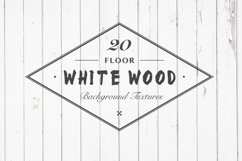 White Wood Floor Background Textures Product Image 1