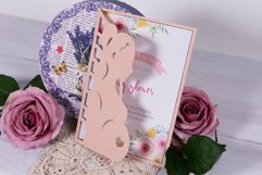 Baby Shower Invitation Lovely Pregnancy cutting file Product Image 2