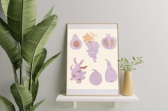 Pattern with fruits & vegetables Product Image 5