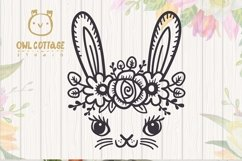 Easter Bunny Face svg , Easter Svg, Easter Decor Product Image 14