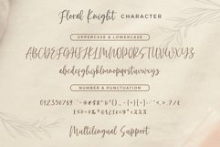 Floral Knight - Modern Handwritten Font Product Image 3