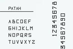 Patah Font Product Image 3