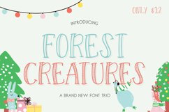 Forest Creatures Font Trio Product Image 1