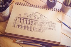 Set of Vienna sketches Product Image 3