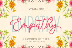 Empathy | Beautiful Font Duo Product Image 1