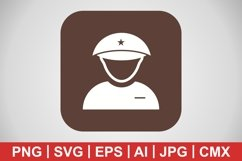 Vector Lieutenant Icon Product Image 1