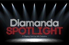 Diamanda Spotlight - Retro Stage Font Product Image 2