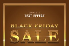 5 Black Friday Text Effect Silver Gold Illustrator Product Image 4
