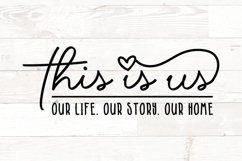 This is Us - family quotes sign Product Image 1