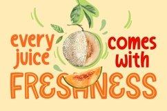 Melon Juice - Freshty Font Product Image 3