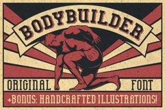 Bodybuilder Layered Font plus Bonus Product Image 3