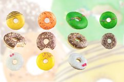 Donuts isolated on a white background. Product Image 1