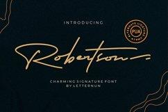 Robertson  Charming Signature Font Product Image 1
