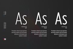Industrial Sans Typeface Product Image 3