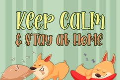 Sweety Stay at Home Cute Serif Handwritten Font Product Image 2