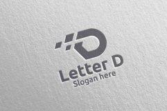 Letter D Digital Marketing Financial Logo 59 Product Image 5