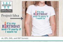 BUNDLED Birthday Cutting Files KWDB023 Product Image 2