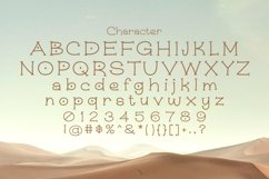 Web Font Joro Product Image 5