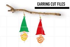 Gnome Easter Egg Earrings Svg / Earrings Template Product Image 1