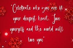 Celebrate - Christmas Calligraphy Font Product Image 2