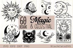 Magic and Celestial SVG bundle 60 designs Product Image 1