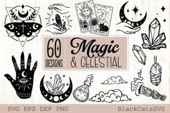 Magic and Celestial SVG bundle 60 designs Product Image 2