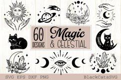 Magic and Celestial SVG bundle 60 designs Product Image 3