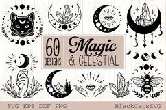 Magic and Celestial SVG bundle 60 designs Product Image 4