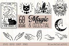 Magic and Celestial SVG bundle 60 designs Product Image 5