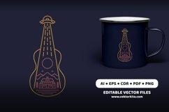 Alien Guitar Product Image 2