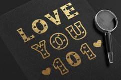 Heart - Classic Display font with doodle glyphs Product Image 3