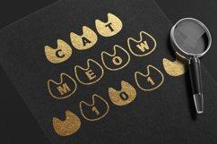 Cat Monogram Display font Procreate font Pet font Product Image 3