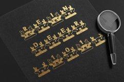 Christmas Reindeer font winter Procreate Xmas kids fonts Product Image 6