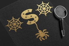 Halloween Spider Display font |Halloween font decorate craft Product Image 4