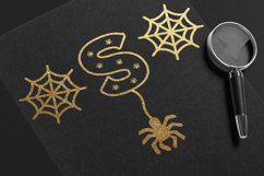 Halloween Spider Display font |Halloween font decorate craft Product Image 5