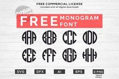 Easter Monogram Frames SVG - Happy Easter SVG Files Product Image 2