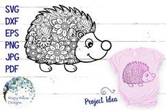 Hedgehog Zentangle SVG Product Image 1