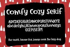 Comfy Cozy Serif Handwritten Font Product Image 2