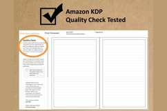 """6x9"""" LINED Interior Editable Template 