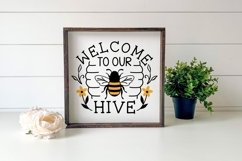 Bees and Honey SVG Bundle - 10 Designs Product Image 2