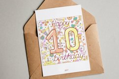 Birthday greeting cards collection Product Image 3