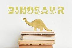 Dino World - Dinosaur Font Product Image 2