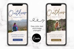 Instagram Story Templates for Canva | Torn Paper Product Image 4