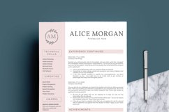 Professional Creative Resume Template - Alice Morgan Product Image 3